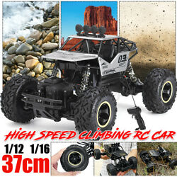 Electric RC Cars 4WD Monster Truck Off Road Vehicle Remote Control Crawler $37.99