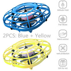 UDIRC Flying Ball Drone for Kids Hand Operated Mini Drone Toy with Fan Mode $34.98