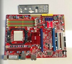 MSI Motherboard K9A2 CF socket AM2 $40.00
