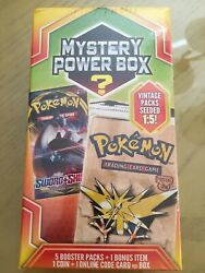 Pokemon Mystery Power Box Vintage Pack 1:5 Fossil Pack? FACTORY SEALED 2020 $65.00