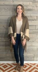 She And Sky Color Block Cardigan One Size $20.00