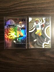 2020 Panini Illusions AJ Dillon Base RC And Mystique Acetate $5.00