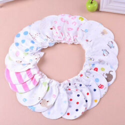 6Pair Infant Anti scratch Mittens Cotton Baby Gloves Months For 0 6 Newborn X2J9 $4.32