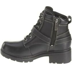 Harley Davidson Ladies#x27; Tegan Casual Lace Up Boots size 9 $139.95