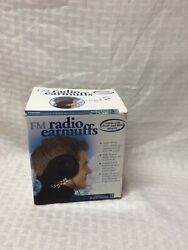 fm radio ear muffs $25.00
