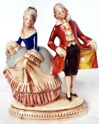 Dresden Porcelain figurines Musicians 50#x27;s Antique GEMANY $85.00
