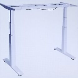 Seville Classics AIRLIFT S3 ELECTRIC STANDING DESK BASE ONLY WHITE OFF65815 $395.25