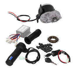 MY1025Z2 DIY Brush Motor Set Electric Kit for Electric Bicycle Scooter 24V 250W $80.23