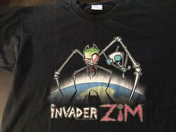 Invader Zim 2001 Original Shirt Vintage Nickelodeon $90.00