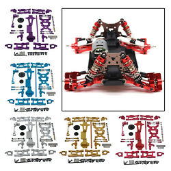 1:14 RC Replacement Metal Kit Front Rear Swing Arm for WLTOYS 144001 DIY Parts $55.97