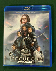 Rogue One: A Star Wars Story Blu ray Disc 2017 $9.96