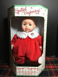 EDEN SPECIAL BEGINNINGS Valentines BABY DOLL About 12quot; Tall SEALED NEW IN BOX $14.99
