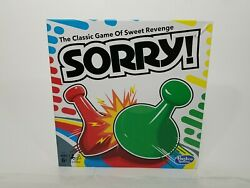 Sorry Hasbro Gaming For Ages 6 Brand New $18.95