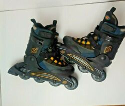 K2 Power Extreme Carbon Women#x27;s Roller Skates Sz 7.5 Used $35.00