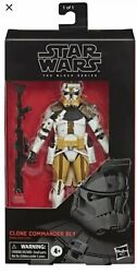 IN HAND Star Wars The Black Series Clone Commander Bly Action Figure FREE SHIP $30.99