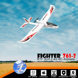 RC Plane 3CH Airplane Aircraft Built In Gyro System Easy To Fly RTF Beginner USA $53.58