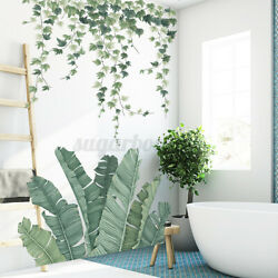 Wall Stickers Home Decal Green Plant Decoration Art Xmas Living Room Decor Mural $8.70