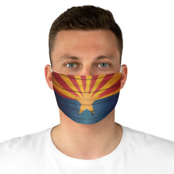 Arizona Stage Flag Face Mask Arizona Face Mask Funny Face Mask Fun Face Mask $9.99