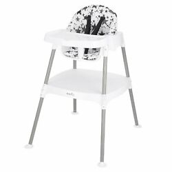Evenflo 4 in 1 Eat amp; Grow Convertible Infant Baby High Chair Pop Star Gray New $66.07