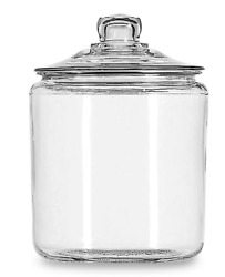 Anchor Hocking Heritage Hill 1 Gallon Storage Jar Clear Home Kitchen Container $25.47