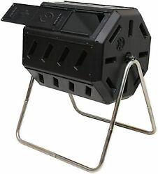 FCMP Outdoor IM4000 Tumbling Composter 37 gallon Black $134.99