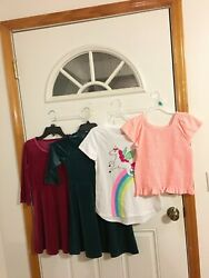 BRAND NEW LOT OF 4 GIRL#x27;S SIZE 10 12 CLOTHING $19.99