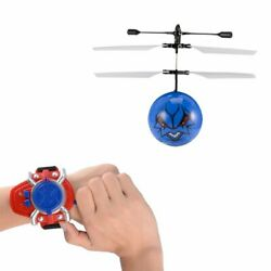 Flying Toy Ball LED Mini Infrared Sensor Hand Drone Helicopter Toys for Kids OW $5.89