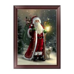 Xmas Full Drill 5D Diamond Painting Embroidery Cross Stitch Christmas DIY Kit 02 $8.99