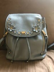 Michael Kors Evie Small with Flower Accents RARE $250.00