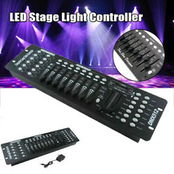 DMX 512 192 Channel Controller DJ Party Stage LED Lighting Control Console
