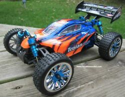 RC Brushless Electric Buggy Car 1 16 Scale LIPO TOP 4WD RTR 18505 C $185.97