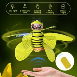 Mini Drone Smart Flying Bee Aircraft RC Drone Helicopter for Kids Flying Toys $18.98