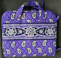 Vera Bradley Hanging Organizer Simply Violet Travel Cosmetic Toiletry Bag Purple $22.49