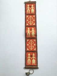 Vintage Norwegian Tapestry Wall Hanging with Bell $25.00