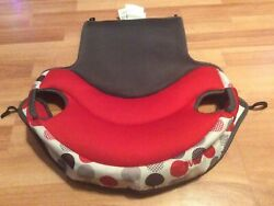 Evenflo Big Kid Elite Booster REPLACEMENT Seat Cover Cushion Part Black Red $9.99