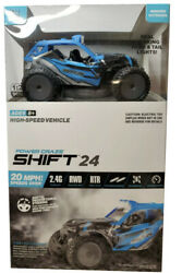 Power Craze Shift 24 Mini RC High Speed Buggy BLUE FAST FREE SHIPPING $38.99