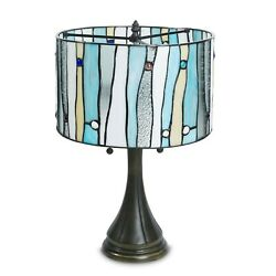 Tiffany Style Contemporary Table Lamp 14quot; Shade $139.99