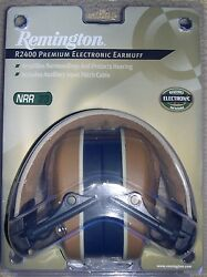 Remington Hearing Protection Premium Electronic Ear Muff R2400 NRR23 Decibles $19.97