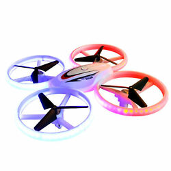S123 LED Mini Drone for Kids Remote Control Drone Small RC Quadcopter for T7D5 $40.04