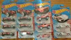 Hot Wheels Target Red Edition lot of 11 cars $20.00