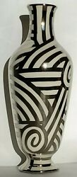 LAURIE GATES Mid Modern Century VASE Stunning Hand Painted *One of a Kind* $148.00