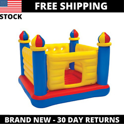 Inflatable Colorful Jump O Lene Kids Ball Pit Castle Bouncer for Ages 3 6 $90.24
