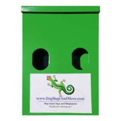 2 Roll Of Dog Waste Bag Dispenser 400 Bio Bags 1mil Yellow Pickup Sign $66.72