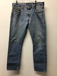 Levi Strauss 501 Jeans 31x30 Button Fly Care For Our Planet Tag $24.99