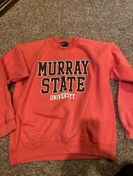Murray State adult medium sweatshirt used college clothing
