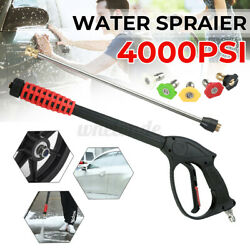 High Pressure Power Washer Water Hose Sprayer Gun Nozzle Wand Attachment $34.46