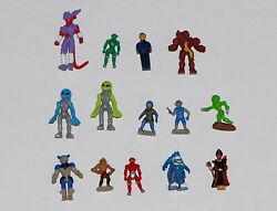 Vintage Micro Figures Lot Of 13 Mixed Brands $19.95