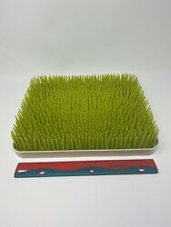 Large BOON quot;LAWNquot; GREEN COUNTERTOP DRYING RACK #377 13.5quot; x 11quot; x 2.5quot; $14.95