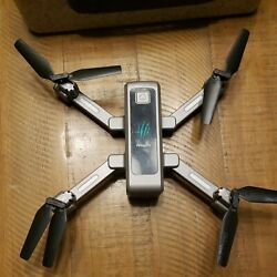 HR H5 RC Foldable Quadcopter Photography Drone 2.4GHz WiFi with 1080P FHD GPS $59.00