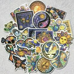 Stickers 25 piece LOT Sun Moon Boho for Laptop Luggage Skateboard Guitar ect $16.99